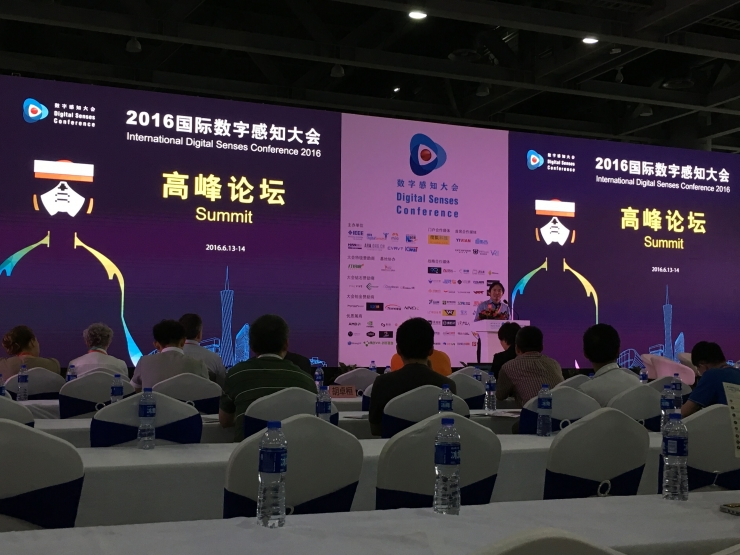 DSE2016国际数字感知大会暨高峰论3