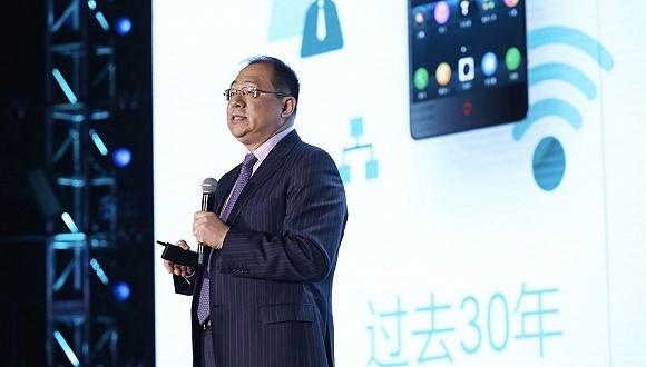 "GMIC2017大会高通中国董事长孟樸演讲:""5G时代将出现新的变革"""